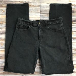 Not Your Daughters Jeans Black Denim Straight Leg
